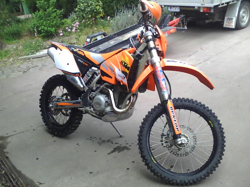 KTM450EXC MX-Tech Valving front & Rear