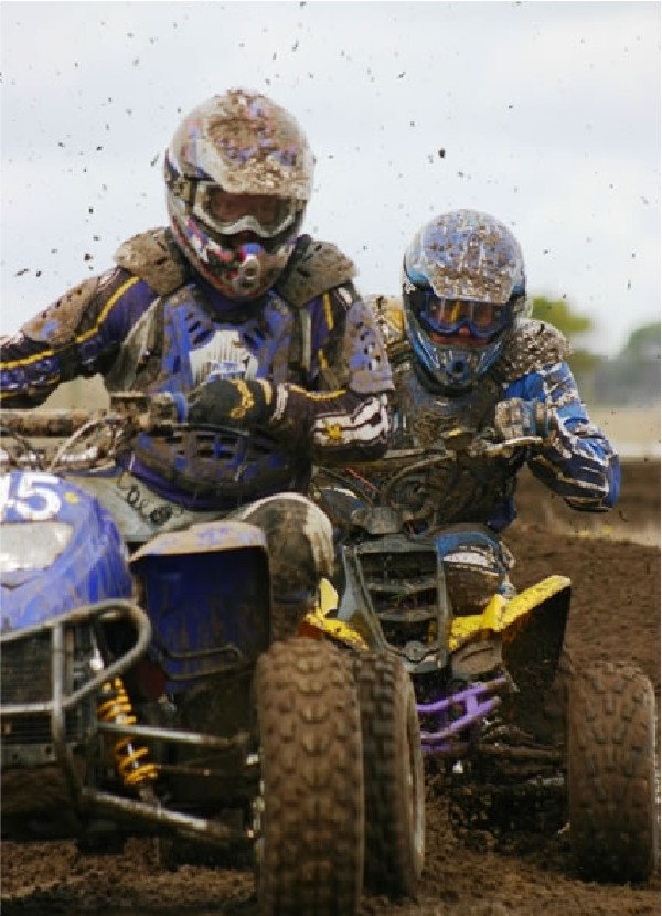 Phil Ede ATV Champion